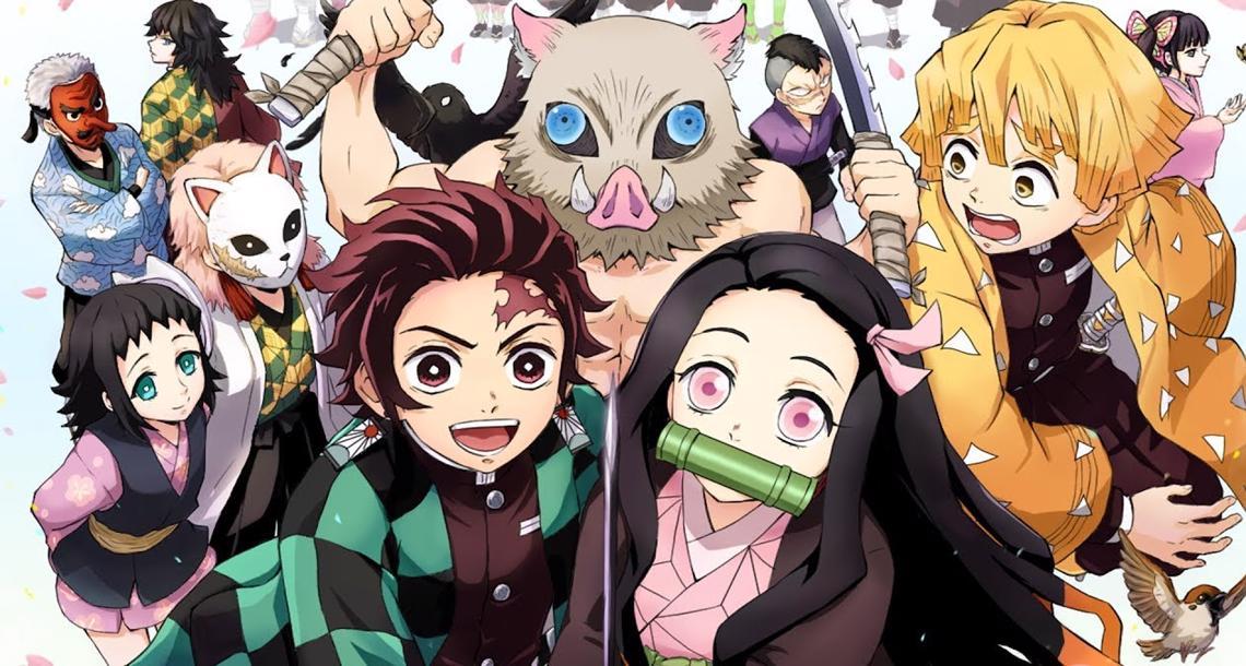 demon slayer kimetsu no yaiba 12 milyon adetle 2019un en cok satan mangasi - Demon Slayer : Kimetsu no Yaiba Tanıtım ve İnceleme - Figurex Anime Tanıtımları
